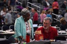 Martha Banks and Allen Laferty - delegates
