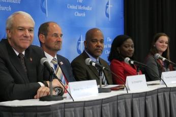 Imagine No Malaria Press conference