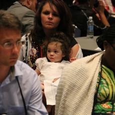 Toddler in Committee Meeting